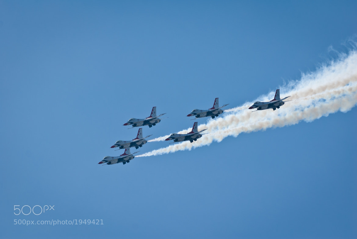 Photograph USAF Thunderbirds - 2 by Brian Arsenault on 500px