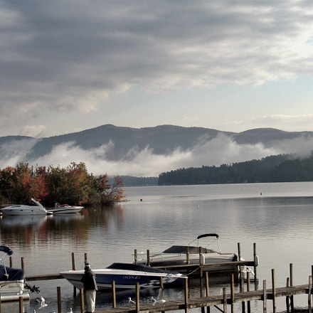 Lake George, October Morning, Fujifilm FinePix A350