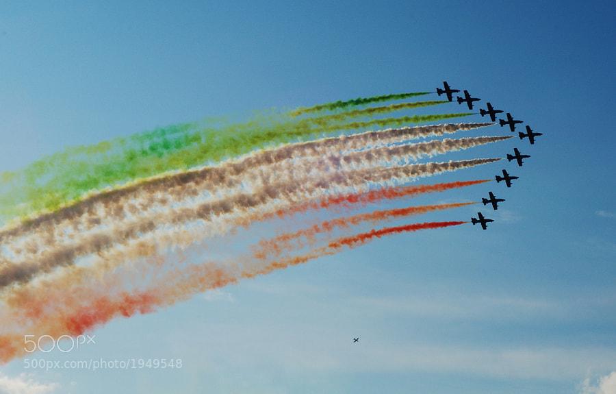 Frecce Tricolori - Airpower 2011