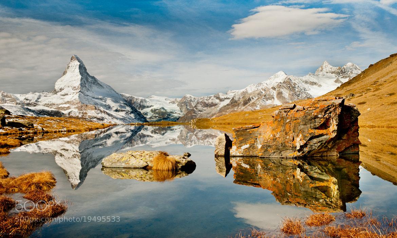 Photograph Le Cervin (Cervino en italien, Matterhorn en allemand) by 1D110 Bertrand Monney on 500px