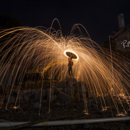 lightpainting, Canon EOS 400D DIGITAL, Tokina AT-X 124 AF Pro DX 12-24mm f/4