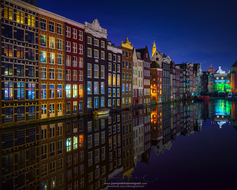 Amsterdam at night 2017 by Juan Pablo de Miguel on 500px.com