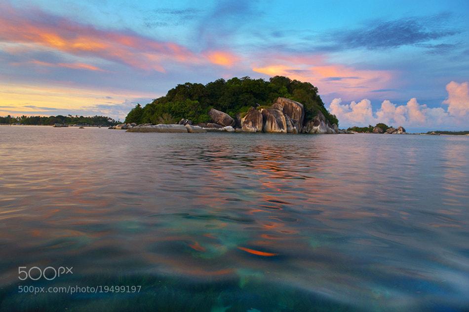 Photograph Pulau Burung Sunrise Photo by Richard Susanto on 500px