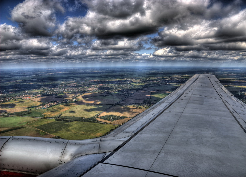 Photograph  The Look outside the Airplane by Adrian Kraszewski on 500px