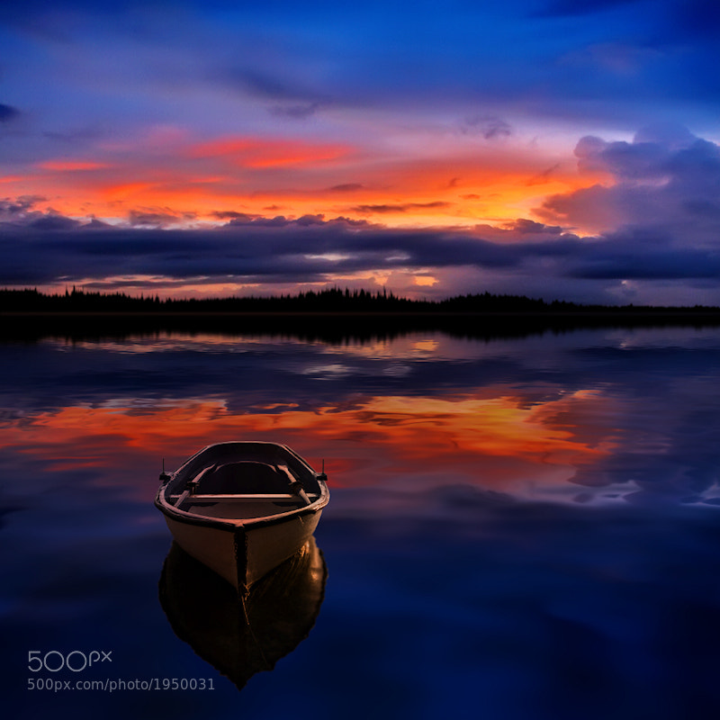 Photograph Peaceful Sunset by Carlos Gotay on 500px