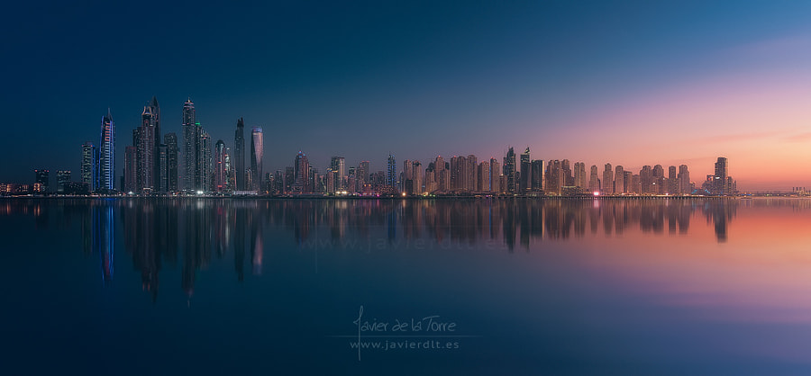 Dubai Marina Skyline by Javier de la Torre on 500px.com