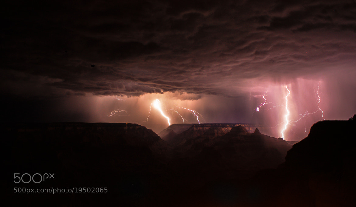Photograph Grand Canyon under thunderstorm by Alexandre Grison on 500px