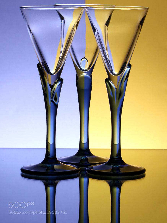 Photograph Three Glasses by Mukerrem Misirlioglu on 500px