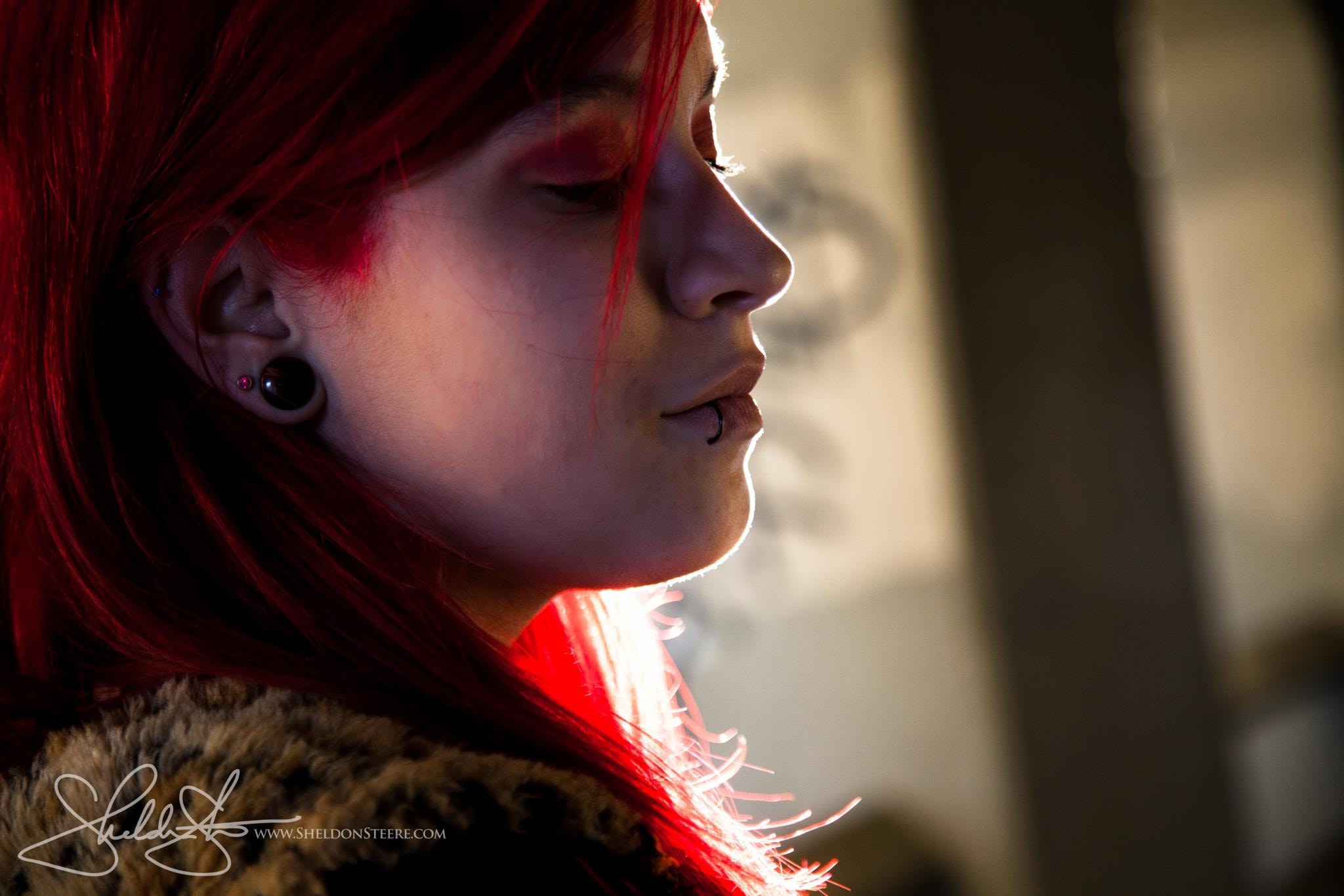 Photograph Adrian in the Light by Sheldon Steere on 500px