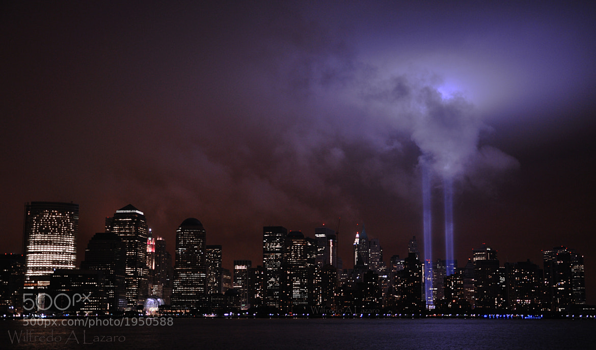 Photograph 2009 Tribute In Light by Wilfredo  Lazaro on 500px
