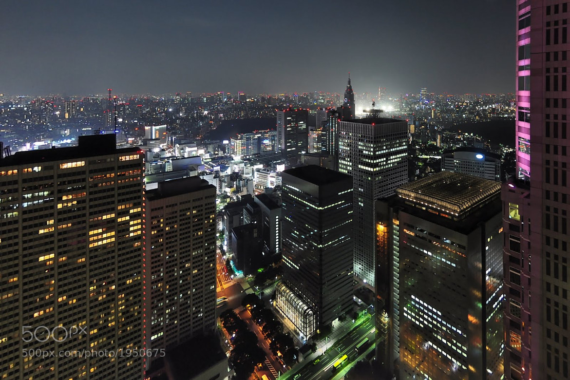 Photograph Tokyo by Night by Thomas Maire on 500px