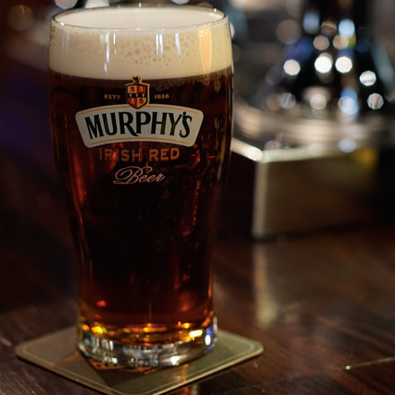 A Pint of Murphy's., Sony ILCE-5100, Sony DT 50mm F1.8 SAM (SAL50F18)