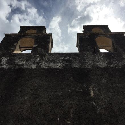 Antigua iglesia Pisté, México