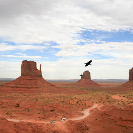 Monument Valley Utah US, Canon EOS 400D DIGITAL, Sigma 18-50mm f/3.5-5.6 DC