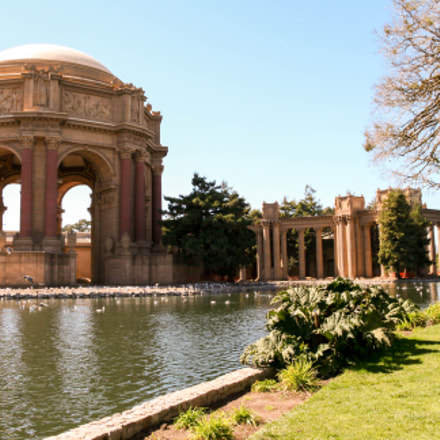 Palace of Fine Arts, Canon EOS 400D DIGITAL, Sigma 18-50mm f/3.5-5.6 DC