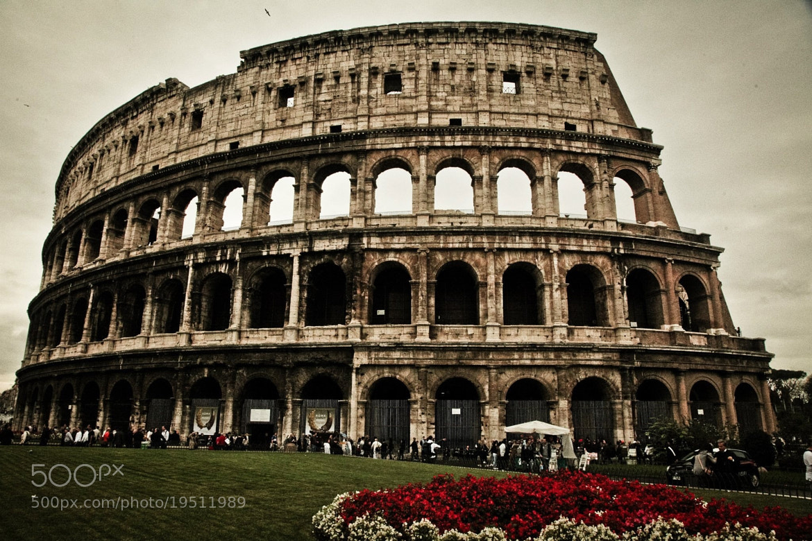 Photograph The Coliseum  by Sheldon Steere on 500px