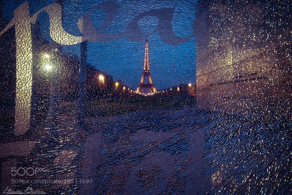 Photograph Eiffel by night by Bastien HAJDUK on 500px