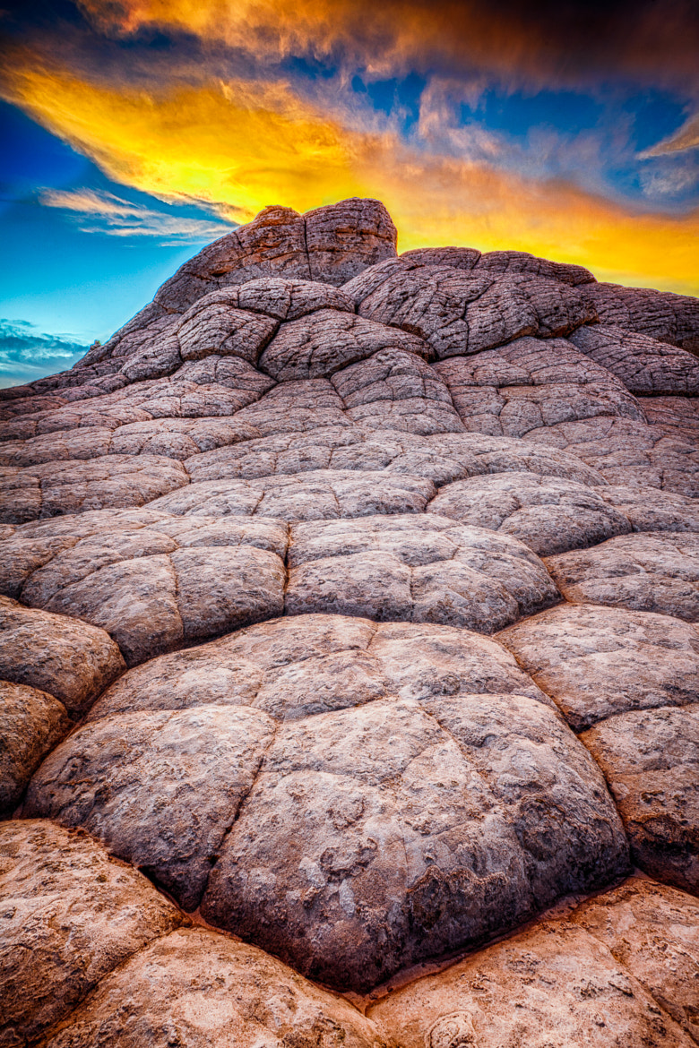 Photograph White Pocket Sunset by Greg Clure on 500px