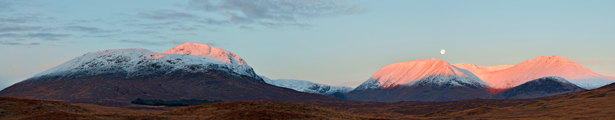 Photograph Glen Coe before the moon went by Kevin McDonald on 500px