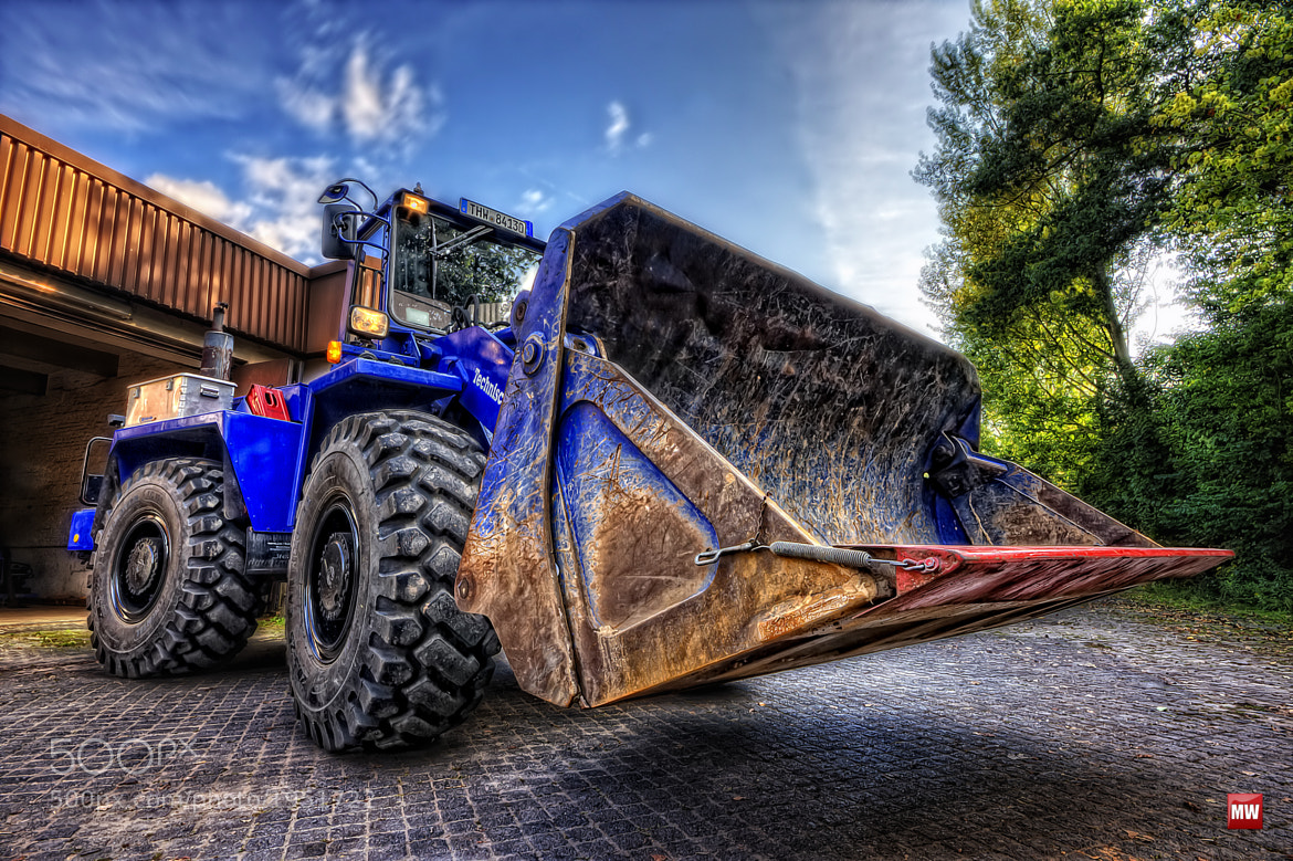 Photograph Wheel-Loader II by Markus Will on 500px