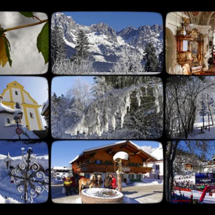 ein Wintermärchen im Kaiserhof Ellmau, Collage