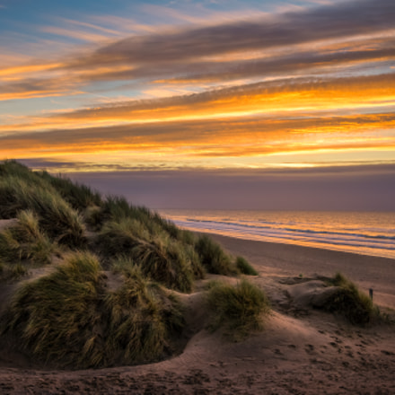 Camber sands winter sunrise