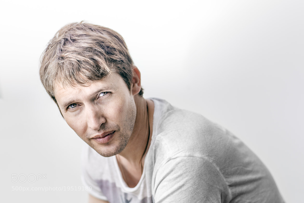 Photograph Portrait of Singer James Blunt by Lars E Andreasen on 500px