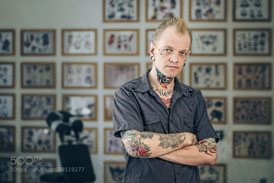 Photograph Portrait of Christian Bjerring by Lars E Andreasen on 500px