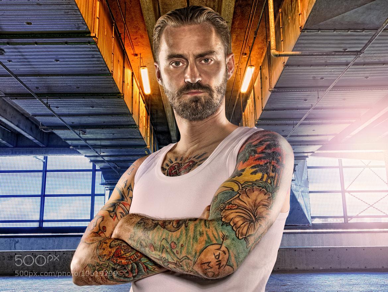 Photograph Portrait of Singer/Rapper tv host Jesper Dahl / Jokeren by Lars E Andreasen on 500px