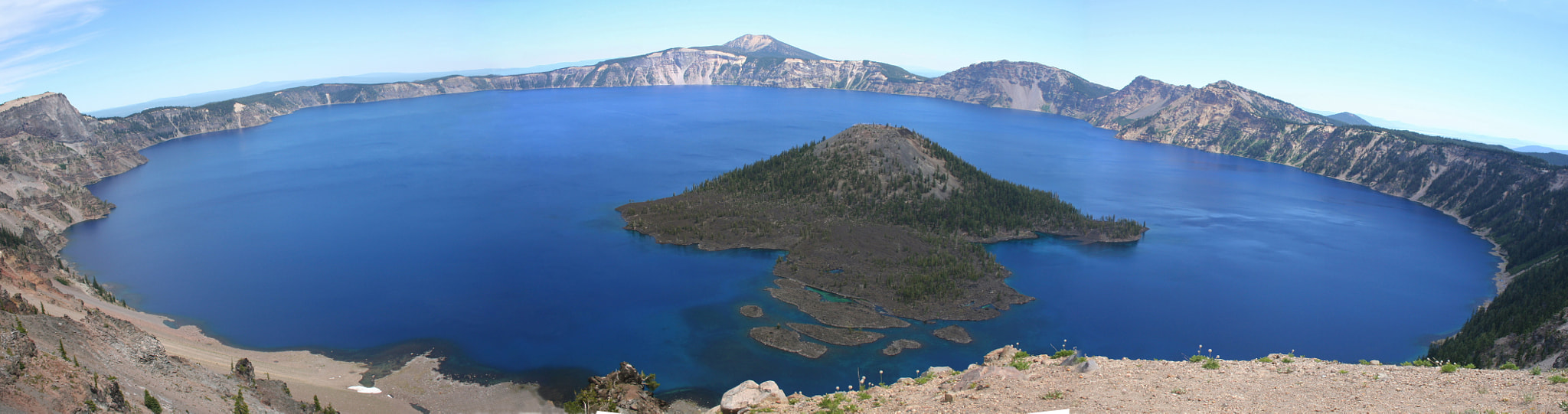 Photograph Crater Lake - Wizard Island by Omer Livne on 500px