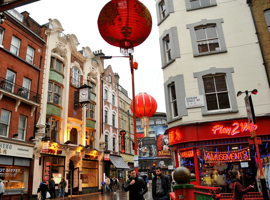 China in the Heart of London by Sandra on 500px.com
