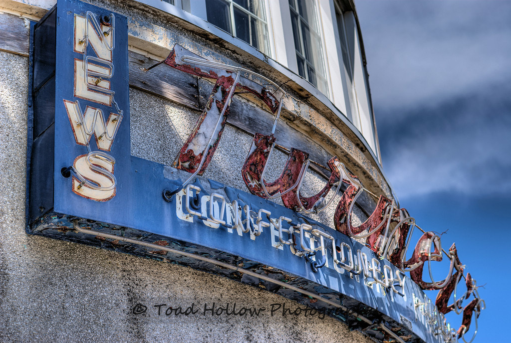 Photograph Turner's News & Confectionery by Toad Hollow Photography on 500px