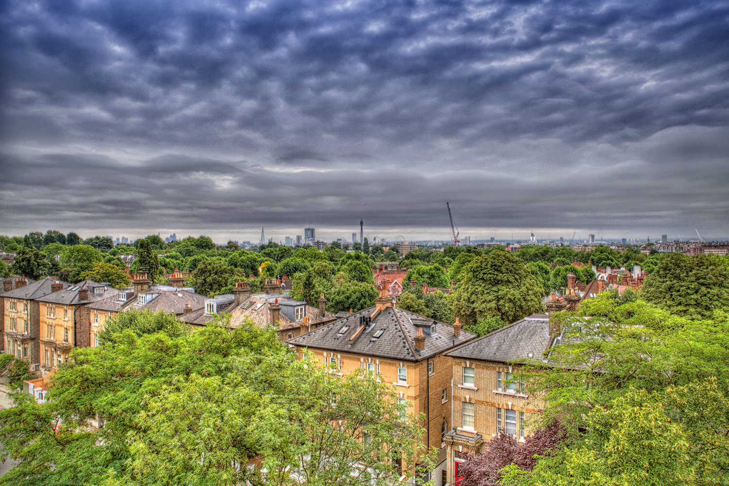 Photograph View across London by Obi Nwokedi on 500px
