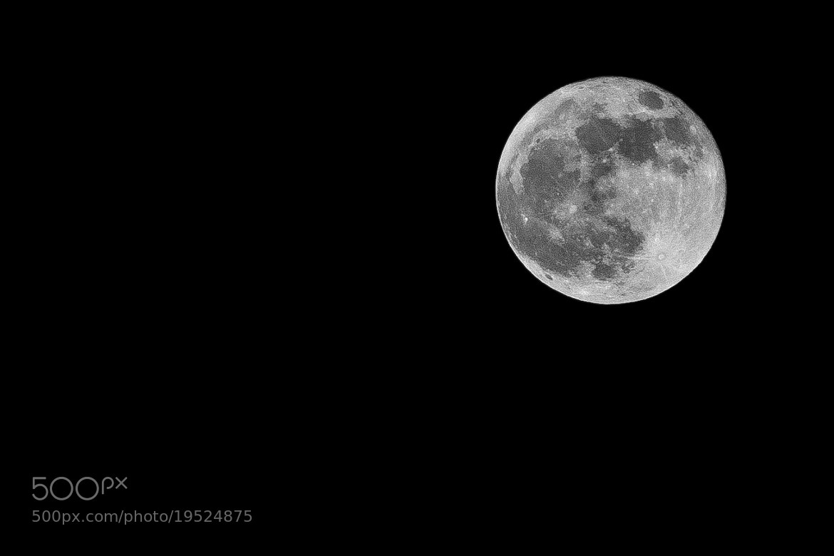 Photograph Moon by Joseph Kolbe on 500px