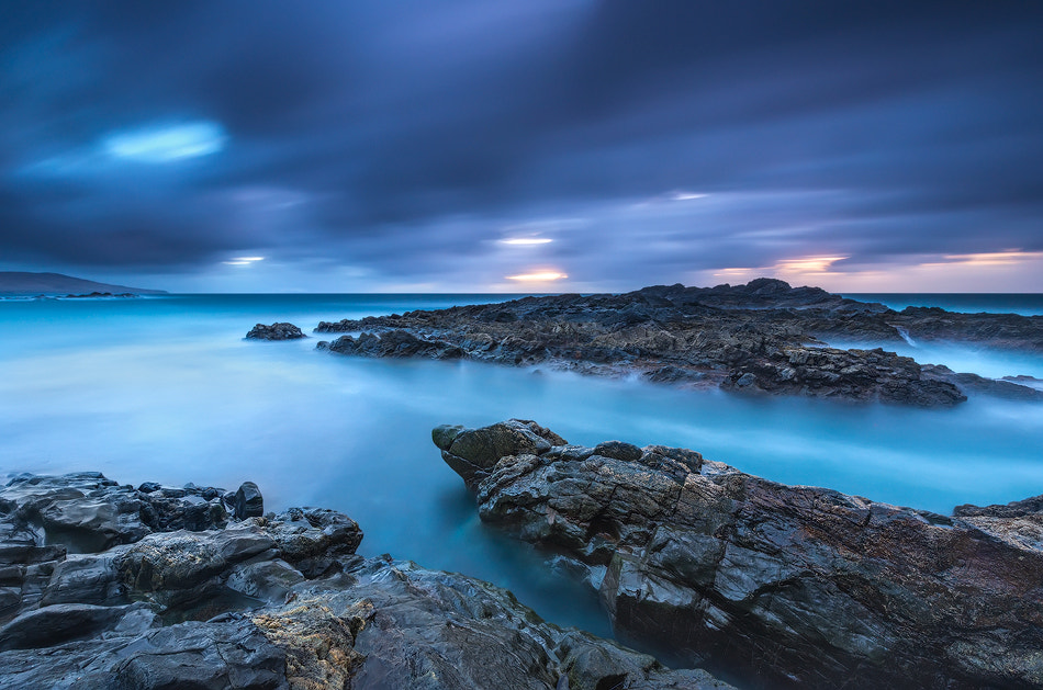 Photograph Blue sunset raining by Carlos Solinis Camalich on 500px