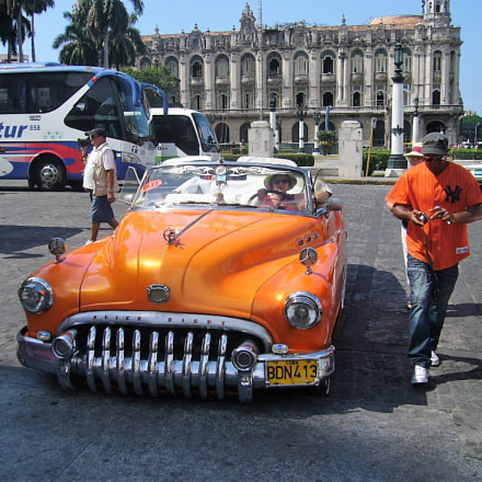 Old car,Cuba, Panasonic DMC-LS1