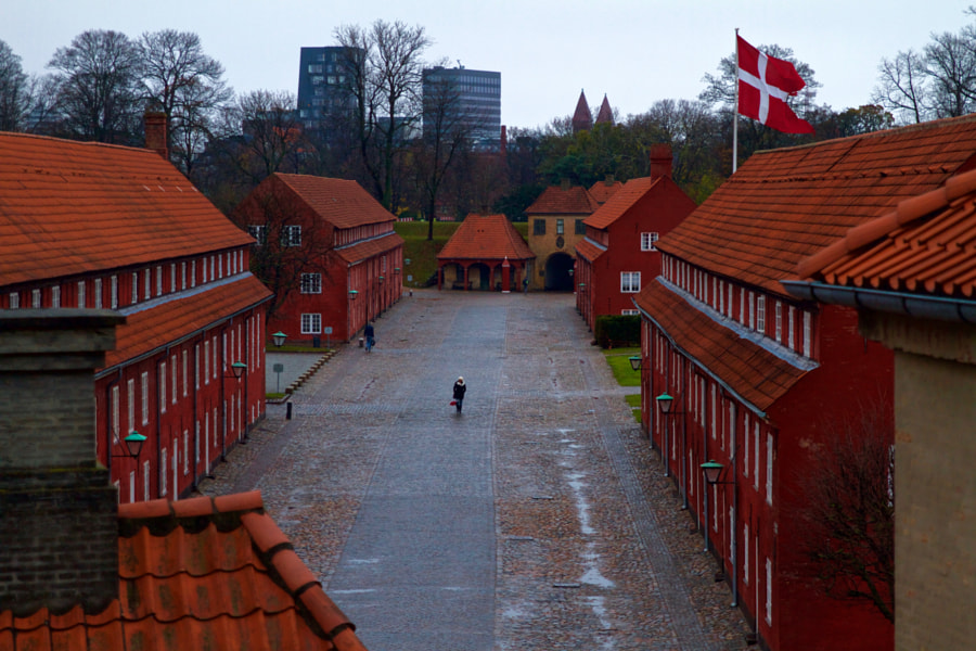 Alone in Kastellet by Scott Oldis on 500px.com
