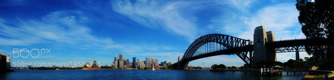 Photograph Sydney Harbour by Nick Gilbert on 500px