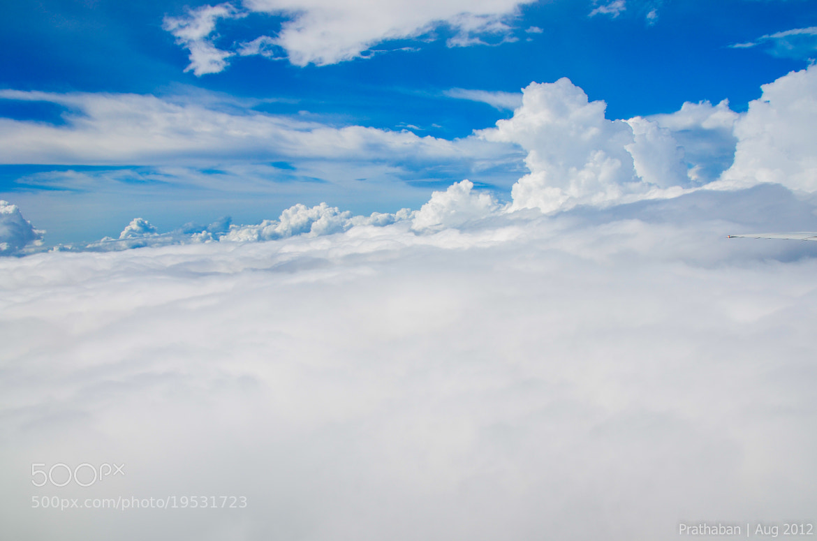 Photograph Clouds from above by Prathaban Umapathysarma on 500px