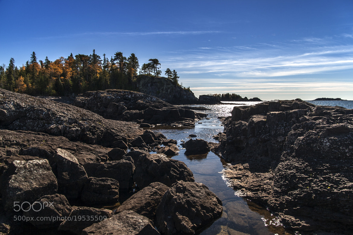Photograph Lake Superior cove by Eros Fiacconi on 500px