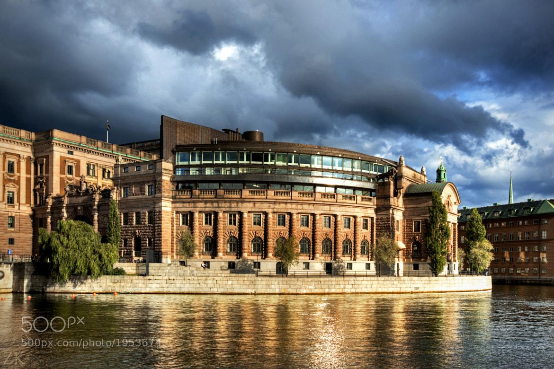Photograph Riksdag Building in Stockholm by Zain Kapasi on 500px