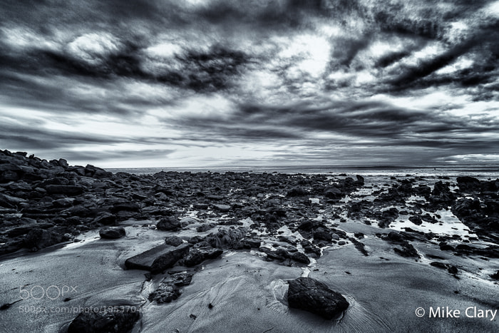 Photograph Moody Beach BW by Mike Clary on 500px