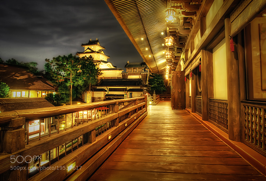 Photograph Japan Pavilion - Epcot by Marc Perrella on 500px