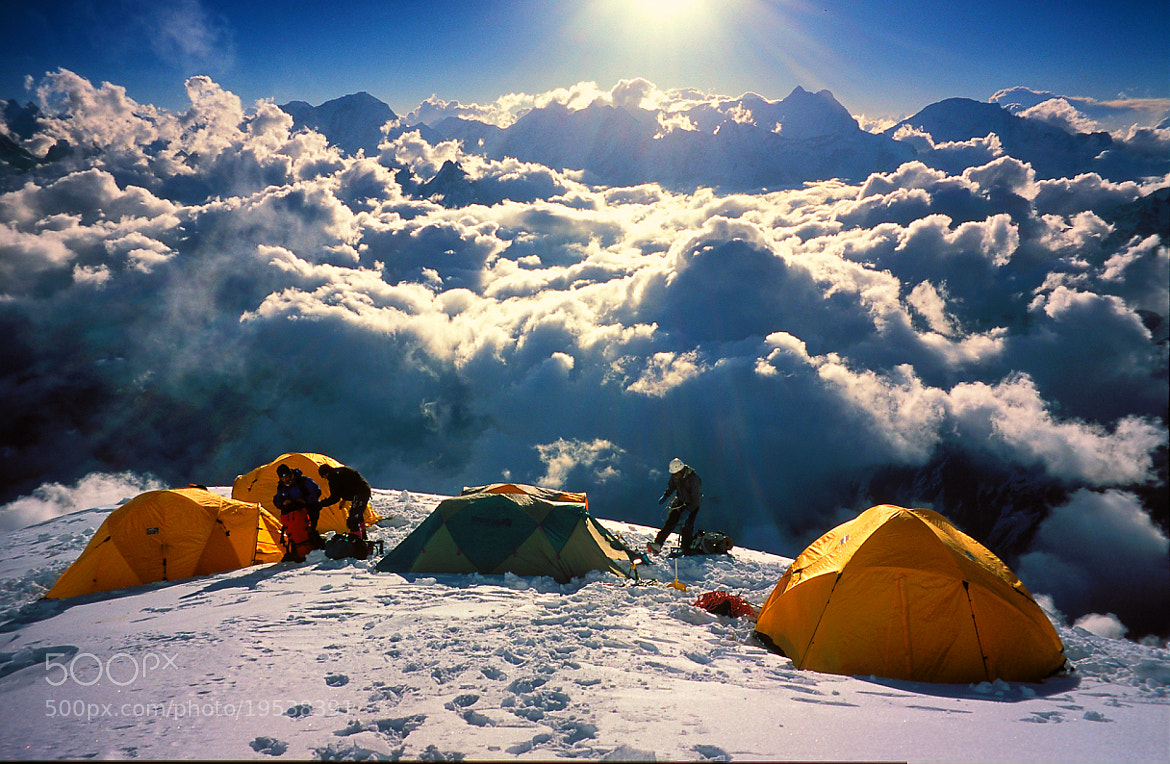 Photograph Above the clouds (6500m) by Luca Febbraio on 500px