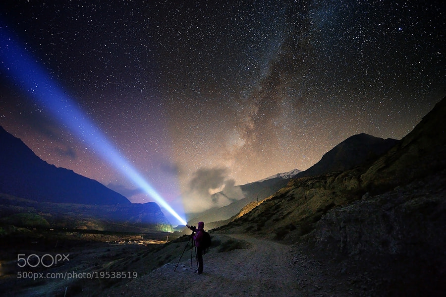 Photograph Milky Way by Surachai Chartsuwan on 500px