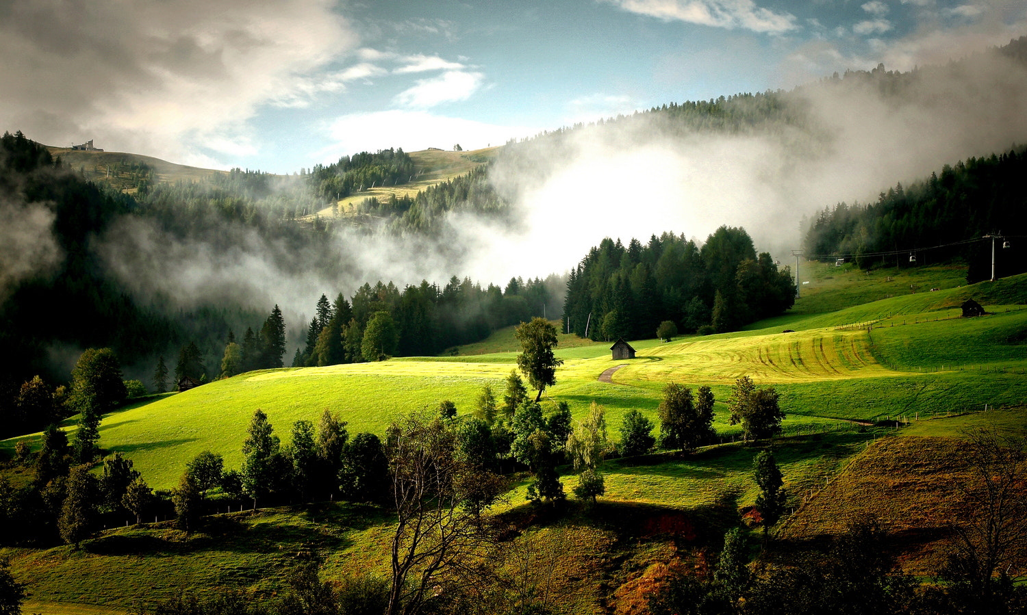 Photograph morning on the mountain by Andy 58 on 500px