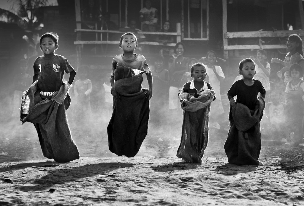 Photograph Sack Race by Alamsyah Rauf on 500px