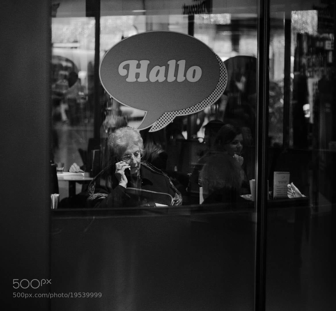 "Photograph Hello in ""Hallo"" by Pascal Thalmann on 500px"
