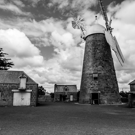 Tasmania Oatlands Windmill