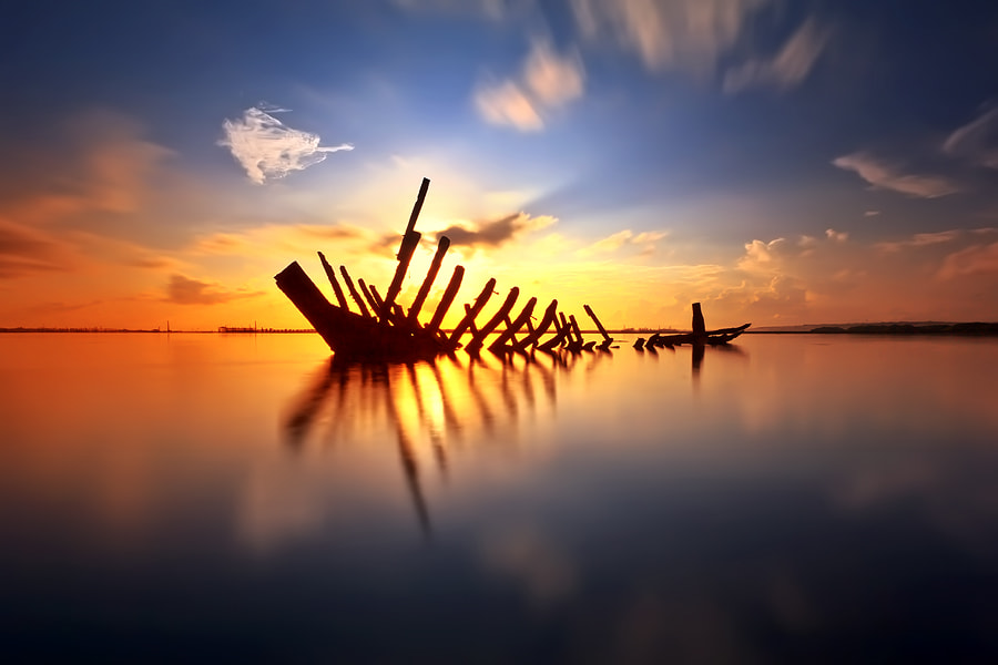 Photograph Bone of Boat by Made Suwita on 500px
